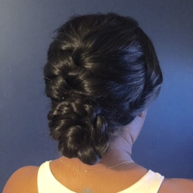 Up-do styling