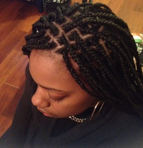 Box Braids. Great protective style for ANY time of the year for sure.