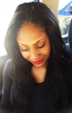 Jet Black Beauty! Sew in-Cut for Volume- Blunt cut at the end-