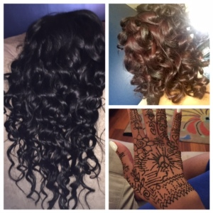 Hair prep and henna!